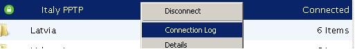 levpn disconnect
