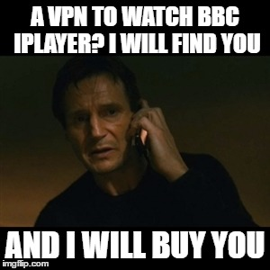 watch bbc iplayer from abroad with a vpn