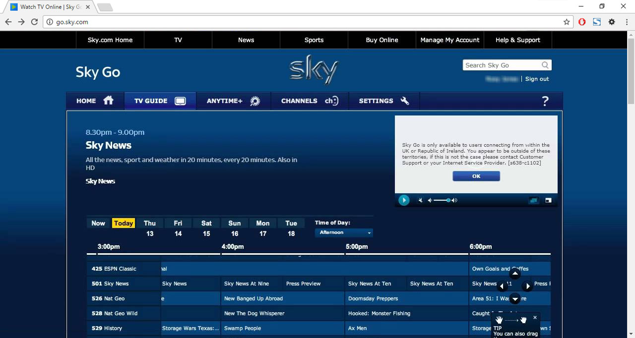 Watch Sky Go abroad 2019: The ultimate guide to unblock Sky