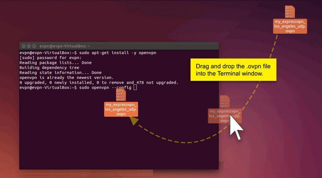 ubuntu vpn client