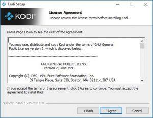 kodi license agreement