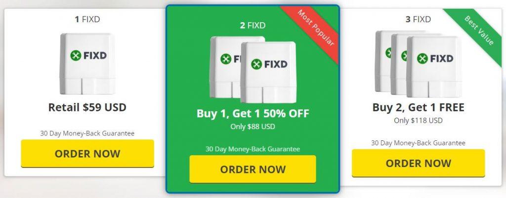 fixd price
