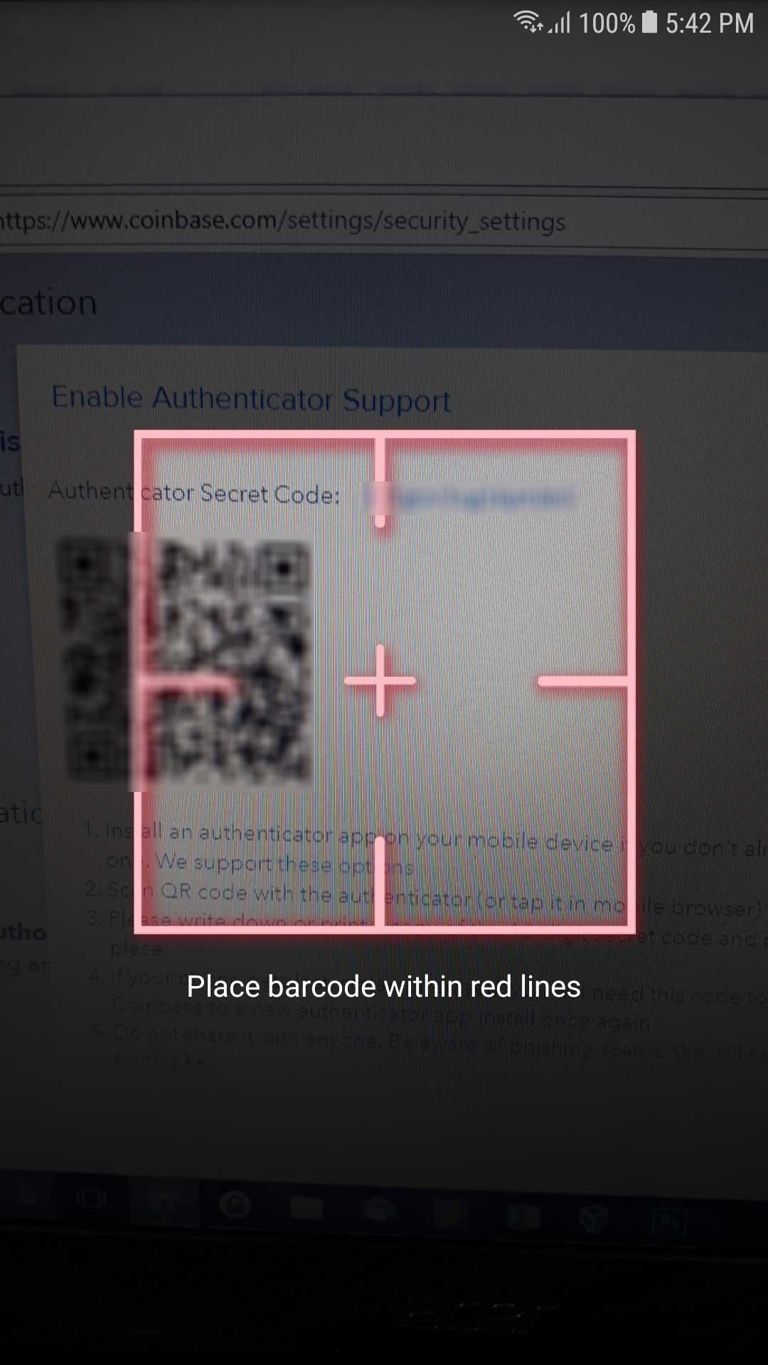 Coinbase  How do I set up 2factor authentication