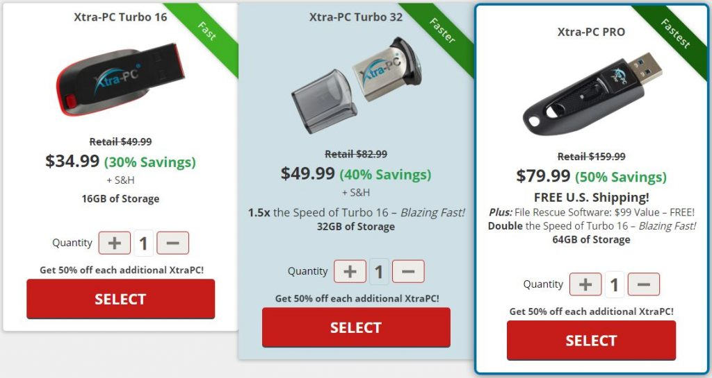 xtra pc price