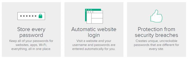 Password Boss features